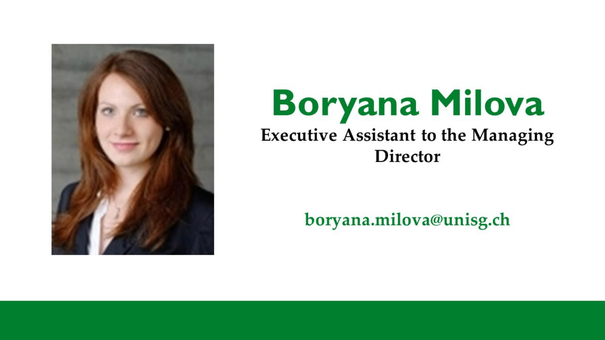 Boryana Milova